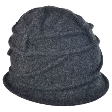 Woolrich Boiled Wool Cloche Hat