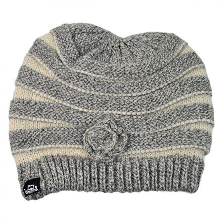 Woolrich Rosette Beanie Hat