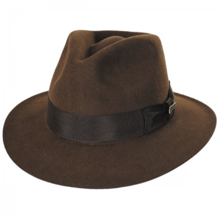 Officially Licensed Fur Felt Fedora Hat alternate view 5