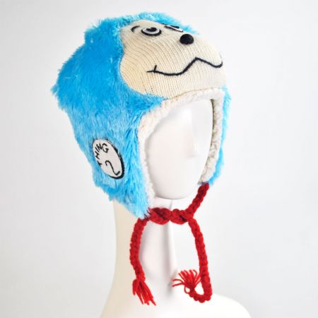 Dr. Seuss Thing 2 Knit Peruvian Beanie Hat