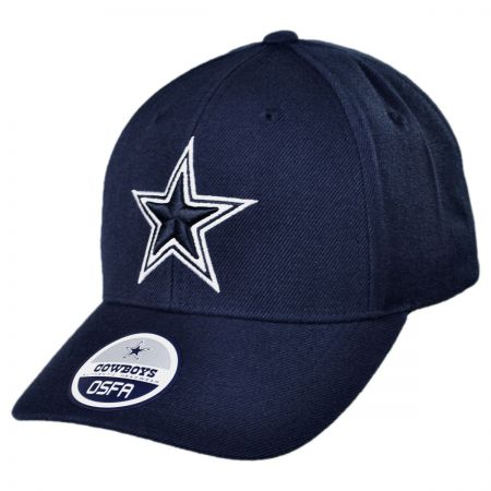 Dallas Cowboys Dallas Cowboys NFL Basic Wool Logo Adjustable Baseball Cap