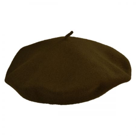 Jaxon Hats Shallow Fit Wool Basque Beret