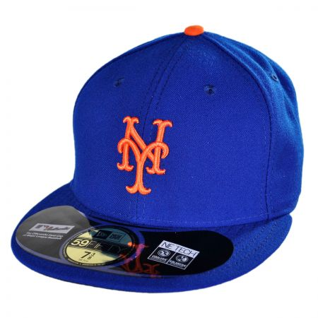 New Era New York Mets MLB Home 5950 Fitted Baseball Cap