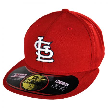 New Era St Louis Cardinals MLB Game 5950 Fitted Baseball Cap