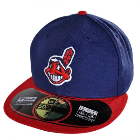 New Era Cleveland Indians MLB Home 5950 Fitted Baseball Cap