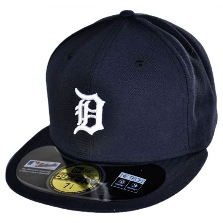 New Era Detroit Tigers MLB Home 5950 Fitted Baseball Cap