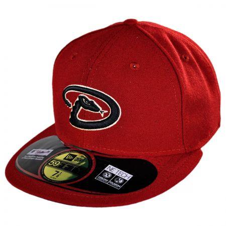 New Era Arizona Diamondbacks MLB Game 5950 Fitted Baseball Cap