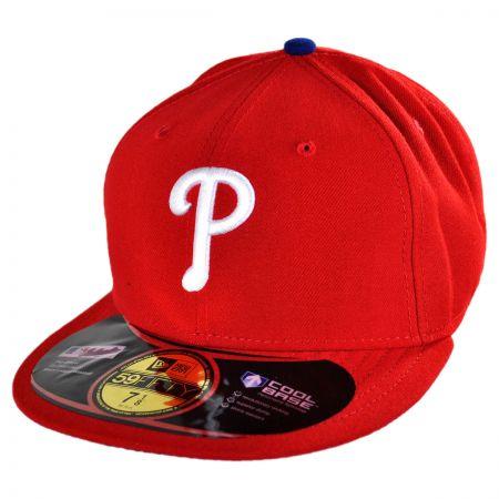 New Era Philadelphia Phillies MLB Game 5950 Fitted Baseball Cap
