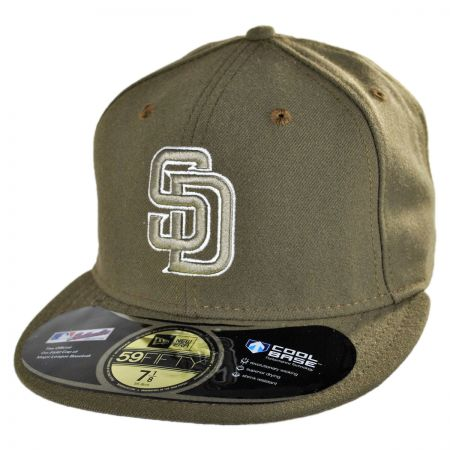 New Era San Diego Padres MLB Alt 5950 Fitted Baseball Cap