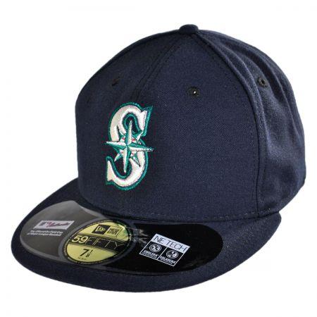 New Era Seattle Mariners MLB Game 5950 Fitted Baseball Cap
