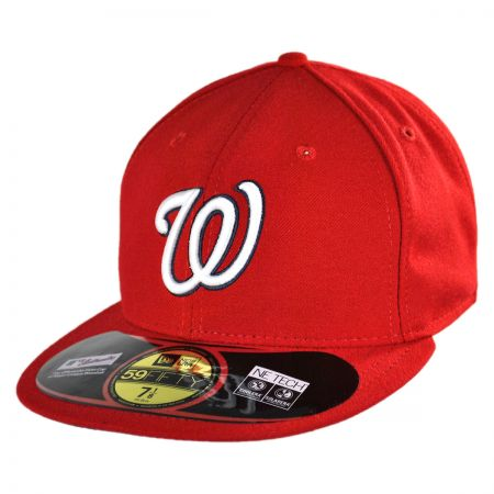 New Era Washington Nationals MLB Game 5950 Fitted Baseball Cap