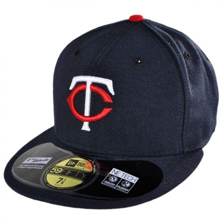 New Era Minnesota Twins MLB Home 5950 Fitted Baseball Cap