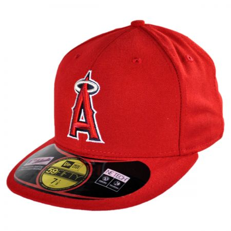 New Era Los Angeles Angels of Anaheim MLB Game 5950 Fitted Baseball Cap