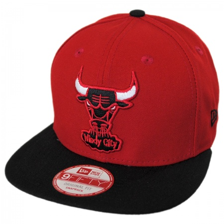 New Era Chicago Bulls NBA Hardwood Classics 9FIFTY Snapback Baseball Cap