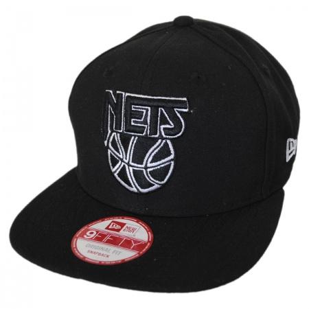 Brooklyn Nets NBA Hardwood Classics 9Fifty Snapback Baseball Cap alternate view 1