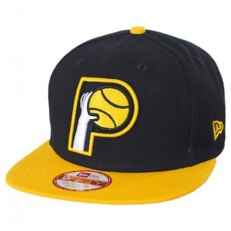New Era Indiana Pacers NBA Hardwood Classics 9Fifty Snapback Baseball Cap