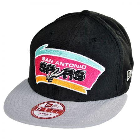 New Era San Antonio Spurs NBA Hardwood Classics 9Fifty Snapback Baseball Cap