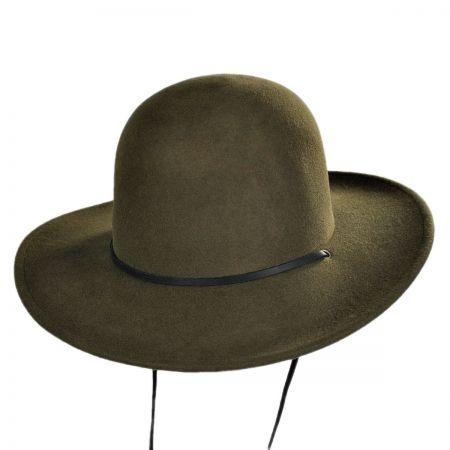 Tiller Packable Wool Felt Wide Brim Hat alternate view 1