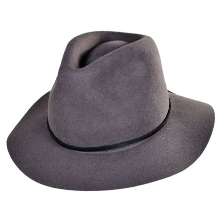 Wesley Wool Felt Floppy Fedora Hat alternate view 4