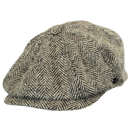 Hills Hats of New Zealand English Check Newsboy Cap