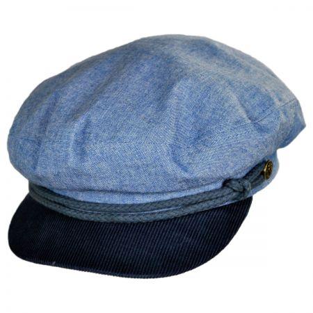 Brixton Hats 2-Tone Fiddler Cap Hat