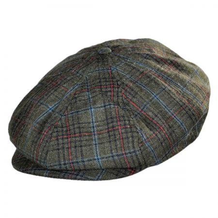 Brixton Hats Brood Plaid Newsboy Cap