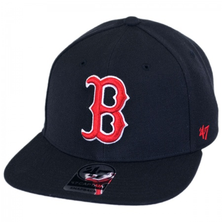 Boston Red Sox MLB Alternate Sure Shot Snapback Baseball Cap alternate view 1
