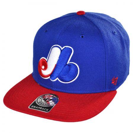 47 Brand Montreal Expos MLB Sure Shot Snapback Baseball cap