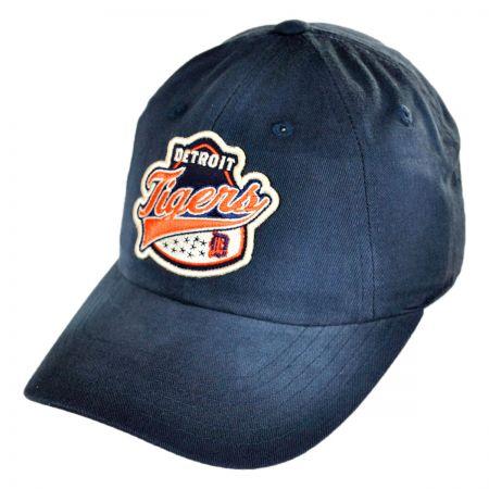 American Needle Detroit Tigers MLB Rebound Strapback Baseball cap