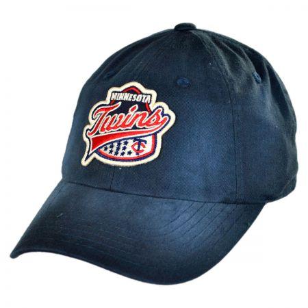American Needle Minnesota Twins MLB Rebound Strapback Baseball cap