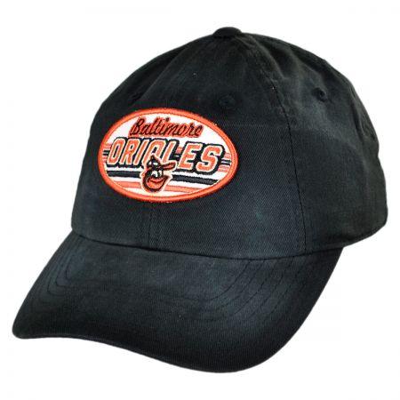American Needle Baltimore Orioles MLB Rebound Strapback Baseball Cap Dad Hat