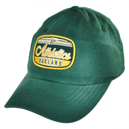 American Needle Oakland Athletics MLB Rebound Strapback Baseball Cap Dad Hat