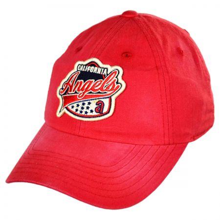 American Needle Los Angeles Angels of Anaheim MLB Rebound Strapback  Baseball Cap Dad Hat