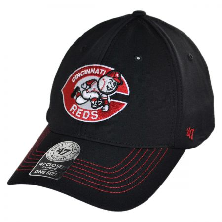 47 Brand Cincinnati Reds MLB GT Closer Fitted Baseball Cap