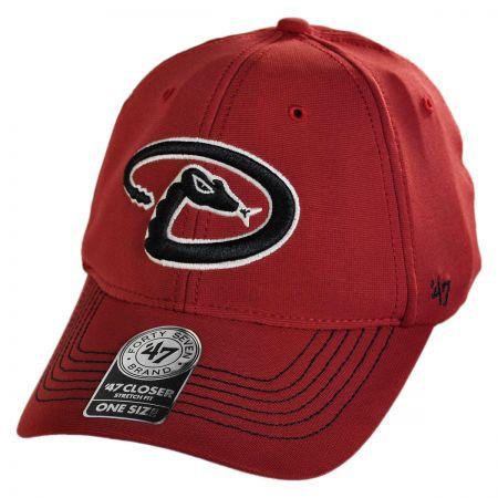 47 Brand Arizona Diamondbacks MLB GT Closer Fitted Baseball Cap