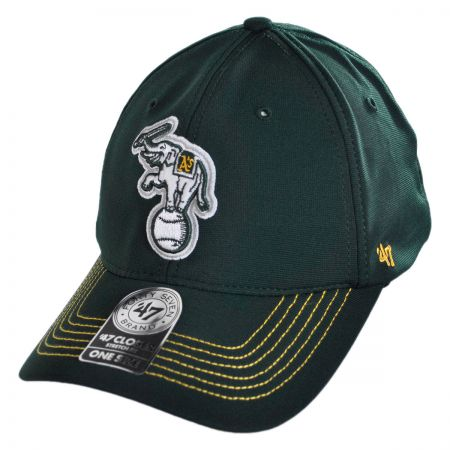 47 Brand Oakland Athletics MLB GT Closer Fitted Baseball Cap