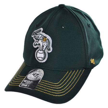 47 Brand Oakland Athletics MLB GT Closer Fitted Baseball Cap