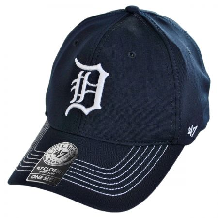 Detroit Tigers MLB GT Closer Fitted Baseball Cap alternate view 1