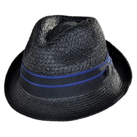 Stacy Adams Vent Stingy Brim Fedora Hat