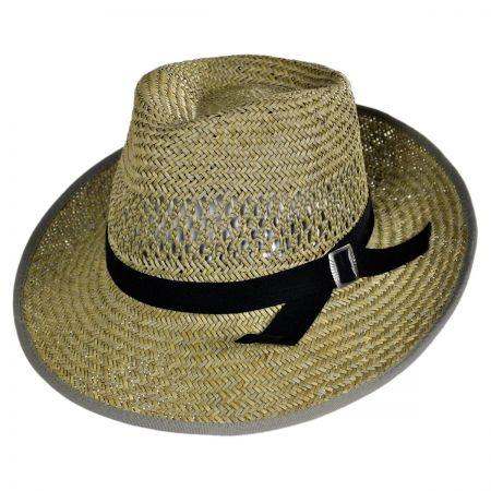 Brixton Hats Gwen Straw Fedora Hat