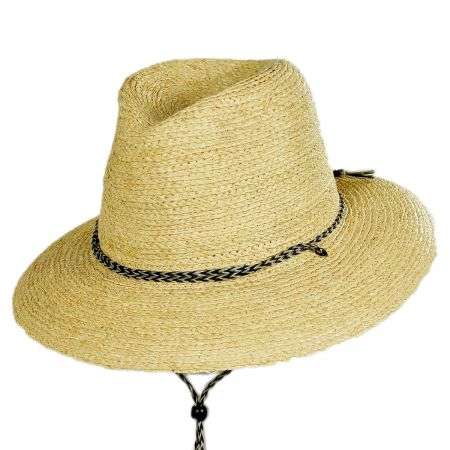 Brixton Hats Bodhi Raffia Straw Lifeguard Hat