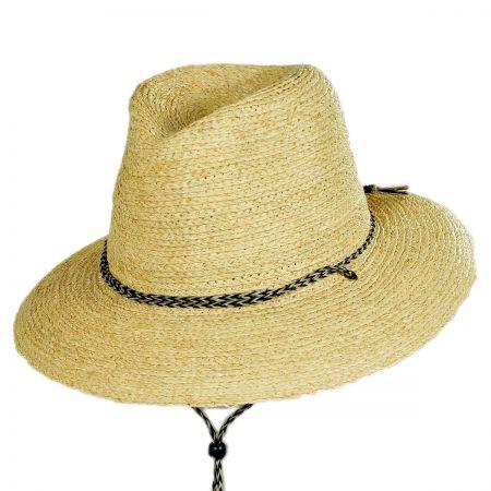 Brixton Hats Bodhi Raffia Straw Lifeguard Hat
