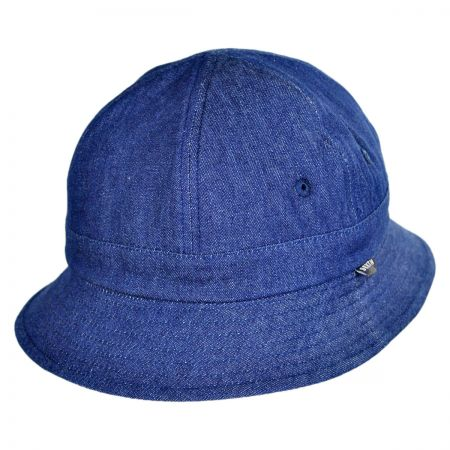Brixton Hats Banks Reversible Cotton Bucket Hat