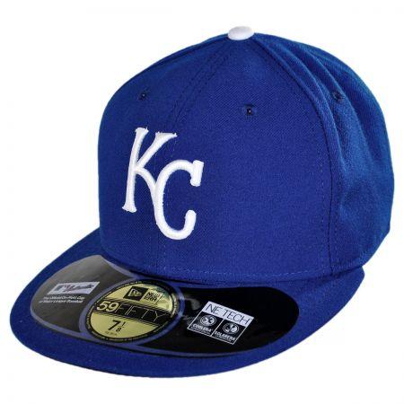 New Era Kansas City Royals MLB Game 5950 Fitted Baseball Cap