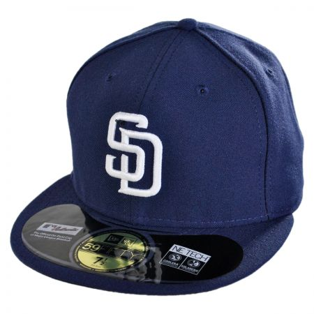 New Era San Diego Padres MLB Home 5950 Fitted Baseball Cap