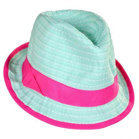 Kindercaps Kids' Ribbon Fedora Hat
