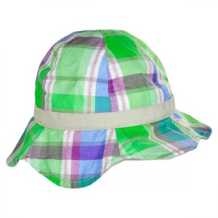 Kindercaps Baby Plaid Cotton Bucket Hat