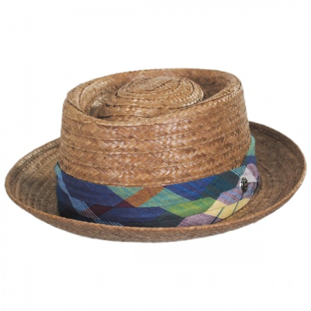 Stetson Madrigal Coconut Straw Pork Pie Hat