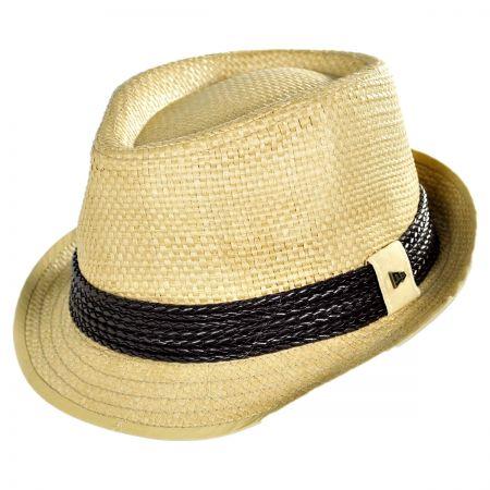 EK Collection by New Era Huxley Toyo Straw Fedora Hat