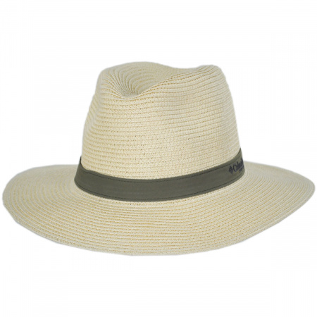 Columbia Sportswear PFG Bonehead Toyo Straw Safari Fedora Hat